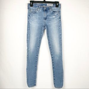 AG Adriano Goldschmied Jeans Mid Rise Ankle Skinny